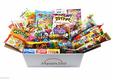 50 PIECE JAPANESE CANDY SET Gummy Ramune Ramen Jelly Chips Gum Easter Gift