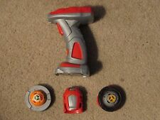 Mega Bloks Magnext Battle Strikers Turbo Launcher Tops Starter Set -Tsunami Toys
