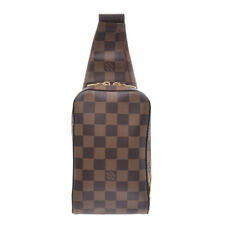 LOUIS VUITTON Damier geronimos body bag Brown N51994 Bag 800000081694000