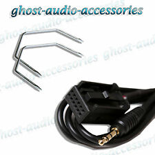 Vauxhall Astra Car Stereo AUX-In Input Adapter Connector with Radio Release Keys