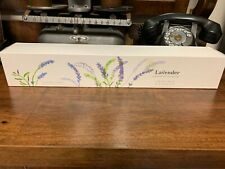 Nib Sealed Crabtree & Evelyn Lavender Scented Drawer Lining Papers! 6 Sheets