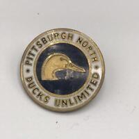 Vintage Pittsburgh North Ducks Unlimited Enamel Pin Pinback