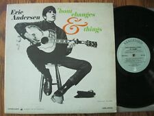 Eric Andersen LP 1966 'bout changes & things VG + mono Vanguard VRS 9206