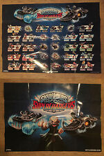 Skylanders Superchargers  Double Sided Collection Poster 70cm x 50cm - Brand New