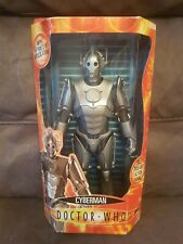 BBC Dr Who 12 Inch Large Cyberman Fully Poseable Action Figure Boxed 2004