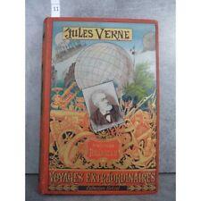 Hetzel Jules Verne mistress branican cartonnage portrait imprimé dos au phare Vo