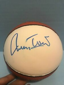 JERRY WEST SIGNED MINI BASKETBALL los angeles lakers west virginia    JSA