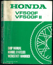 Revue d'Atelier HONDA VF 500 F Manuel Technique VF500 FII /F2 Werkstatt handbuch