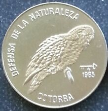 Cotorra Bird 1 Peso 1985 Endangered Species - Protect the Environment