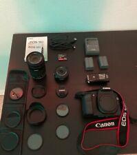 Canon EOS 50D Camera Body + EFS 55-250mm lens + EFS 24mm + Accessories Bundle
