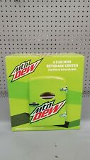 Mountain Dew 6 Can Mini Refrigerator Fridge Beverage Center Mtn Dew