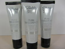 3 PACK - PURE BRILLIANCE 1 OZ. TUBE SAMPLES of TANNING LOTION by SWEDISH BEAUTY