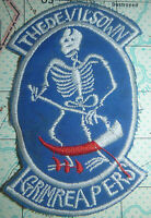 Devils Own Grim Reaper - USAF - PATCH - 13th BOMB SQUADRON - Vietnam War - 125