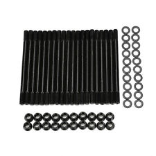 Black Head Stud Kit Fits Ford 6.0L 03-07 Powerstroke Diesel F250 F350 F450 F550