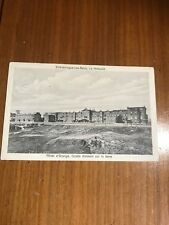 HOTEL D'ORANGE  SCHEVENINGUE LES BAINS HOLLAND  1915 POSTCARD