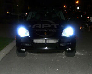 2x D1S Xenon Hid 35W 85V Bulbs Ice Blue 8000K Low Beam Porsche Cayenne 2002-2014