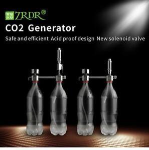 CO2 Generator for Plants Aquarium DIY CO2 Kit Pressurized with Bubble Counter