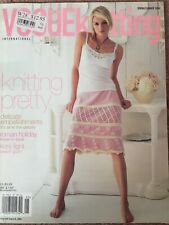 Vogue Knitting Magazine Spring/summer 2006