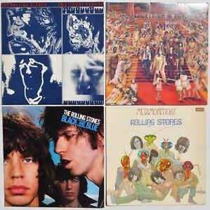 ROLLING STONES 33Trs - Black & Blue, Emotional, Metamorphon, Only Rock' - 1970'