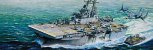 Trumpeter 05611 1/350 scale USS Wasp LHD-1 midel kit