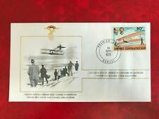 CENTRAL AFRICAN REPUBLIC CAR 1978 FDC FAI AVIATION WRIGHT BROTHERS FLYER