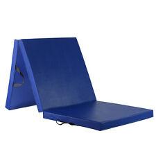 WolfWise Colchoneta Gimnasia Deportiva Alfombra Yoga Ejercicio Gruesa 5cm Azul