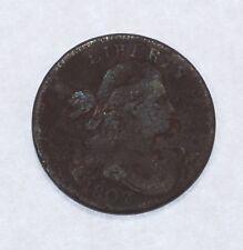 BARGAIN 1802 Draped Bust Large Cent FINE 1c