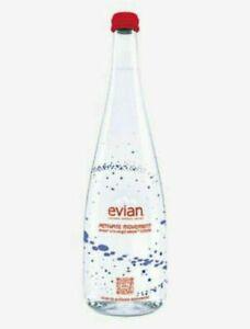 Bouteille Evian Virgil Abloh Edition limitée 2020 Activate Movement PLEINE NEUVE