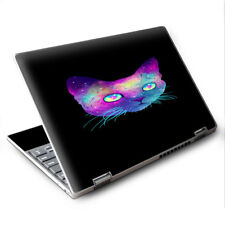 """Skins Decals for Lenovo Yoga 710 11.6"""" Laptop Vinyl Wrap / Colorful Galaxy Spac"""