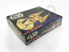 Amt Star Wars Tie Interceptor Highly Finished Gold Tone Limited Ed. Model Kit