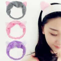 Cat Ears Hairband Head Band Party Gift Headdress Makeup Tools Hair Accessories