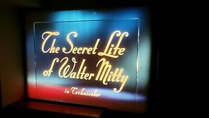 """16MM FEATURE FILM: """"THE SECRET LIFE OF WALTER MITTY"""" - KODACHROME - 1947 - NICE!"""