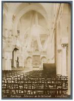 Albert, Tunisie, Carthage (قرطاج), Intérieur de la Cathédrale  Vintage citrate p