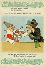 Lothar Meggendorfer marionnettes - 1905-Belle ill.!