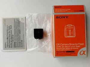 SONY FA-CS1AM Off-Camera Shoe For Flash New Old Stoke