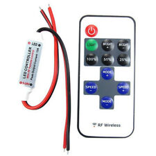 12V RF Wireless Mini Remote Switch Controller Inline Dimmer for LED Strip Light