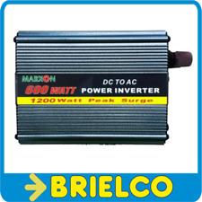 CONVERTIDOR INVERSOR ELEVADOR 12VDC-220VAC 600W ONDA SENOIDAL MODIFICADA BD10394