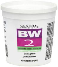 Clairol Professional BW2 Tub Powder Lightener Extra-Strength Hair Bleach 8 oz