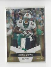 2010 Certified Mirror Gold Ronnie Brown PATCH Dolphins /50