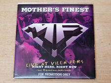 Mother's Finest/Live At Villa Berg Right Here Right Now/2006 CD Album/Promo