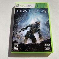Halo 4 (Xbox 360, 2012) Microsoft Game Studios 343 Ind. 2 Disc Bonus Live War EC