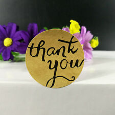 Thank you seal stickers Gift seal sticker for homemade bakery&gift packaging 144