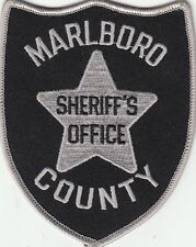 MARLBORO COUNTY SHERIFF'S OFFICE SOUTH CAROLINA SC POLICE PATCH