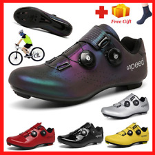 Self-locking Mtb Cycling Shoes Men Bike SPD Pedals Shoes Road Bicycle Sneakers