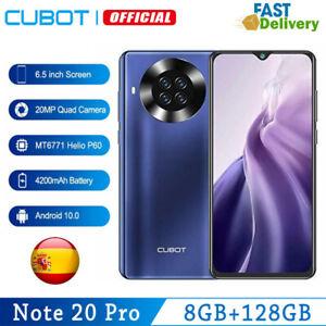 6,5''Cubot Note 20 Pro 8GB 128GB NFC 4G 2*SIM Smartphone OctaCore Teléfono Móvil