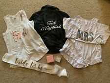 David's Bridal + Kate Spade + Other Assorted Bride/Mrs Clothing and Accessories