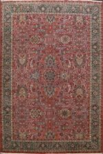 Excellent Vintage Floral Sivas Turkish Oriental Area Rug Wool Hand-knotted 8x12
