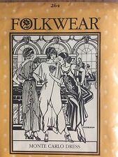 Folkwear Monte Carlo Dress & Tunic 1920s Pattern # 264 size XS-XL free ship!