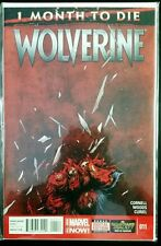 WOLVERINE #11, 1 Months to Die (2014 Marvel NOW Comics) NM Comic Book