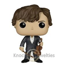 POP Television: Sherlock - Sherlock Holmes with Violin Collect Funko! Funko New